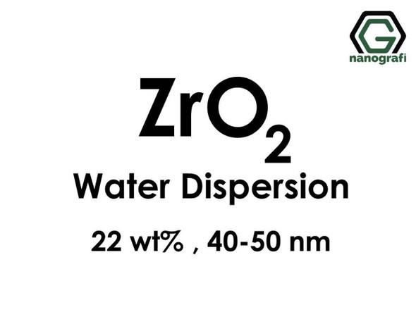 ZrO2 - Su İçerisinde (ZrO2, 22 %ağ, 40-50nm