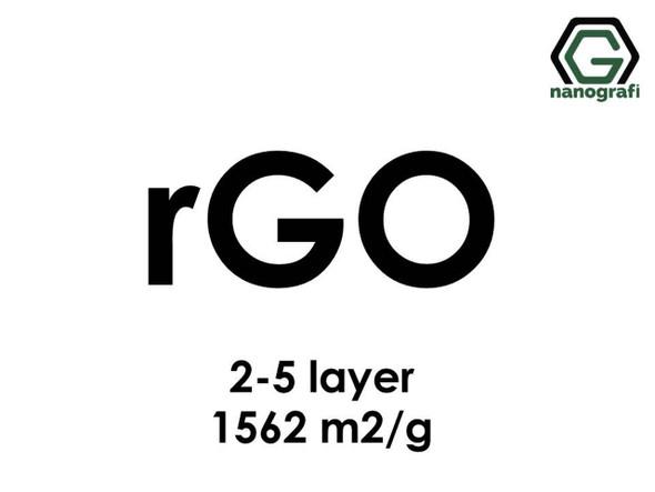 İndirgenmiş Grafen Oksit (rGO), S.A:1562m2/g, 2-5 Katman