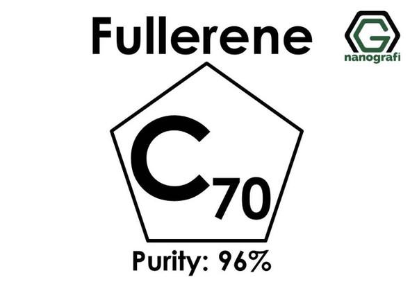 Fulleren-C70 Saflık: 96%