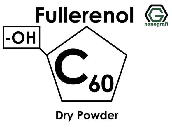 Polihidroksilat Fullerens (Fullerenol),C60 -OH ile Fonksiyonlaştırılmış Fulleren Kuru Toz