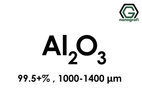 Al2O3( Aluminyum Oksit) Mikron Toz, 1000-1400 Mikron , 99.5+%