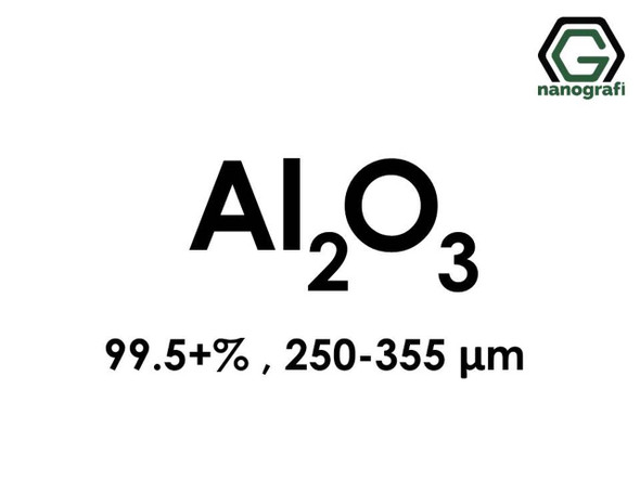 Al2O3(Aluminyum Oksit) Mikron Toz, 250-355 Mikron , 99.5+%