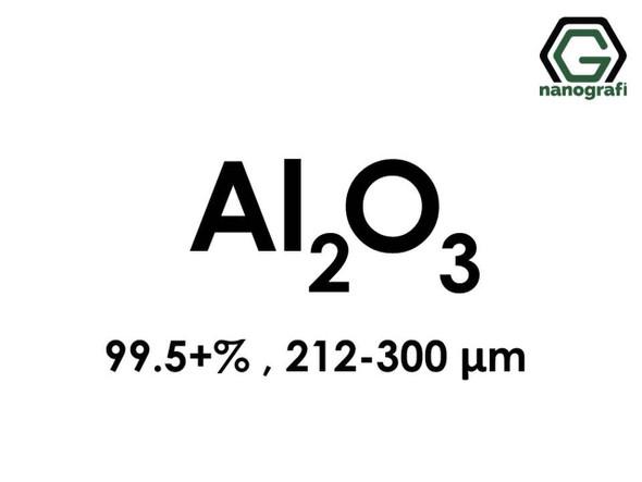 Al2O3(Aluminyum Oksit) Mikron Toz, 212-300 Mikron , 99.5+%