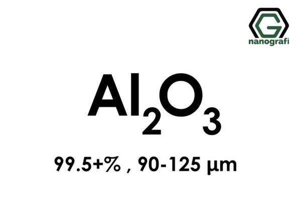 Al2O3(Aluminyum Oksit) Mikron Toz, 90-125 Mikron , 99.5+%