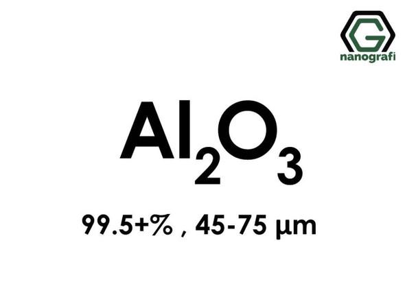 Al2O3(Aluminyum Oksit) Mikron Toz, 45-75 Mikron , 99.5+%