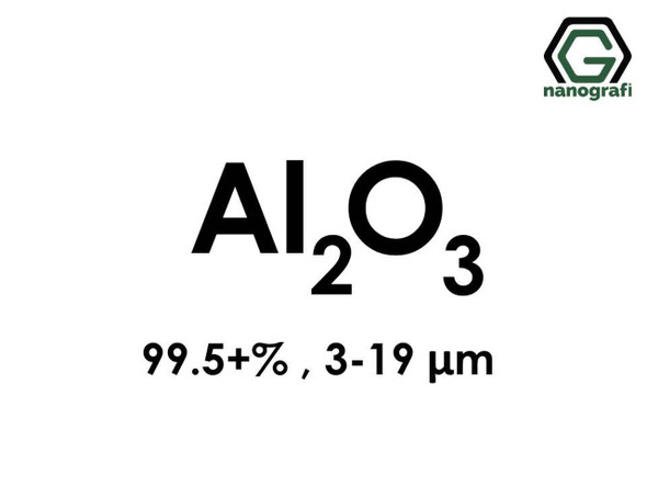 Al2O3(Aluminyum Oksit) Mikron Toz, 3-19 Mikron , 99.5+%