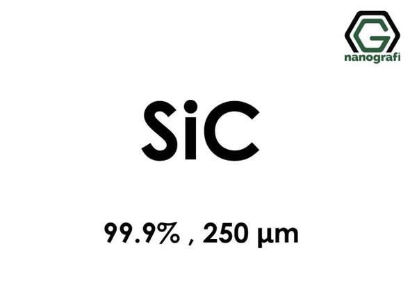 SiC(Silikon Karbür) Mikro Toz, 99,9%, 250 um