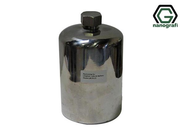 Lityum İyon Akü Araştırma Geliştirme için Elektrolit Lityum Heksaflorofosfat (LiPF6), Paslanmaz Çelik Konteynırda 1 Kg