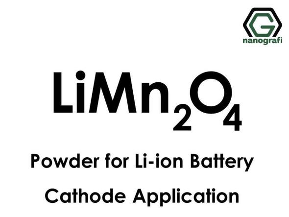Li-İyon Batarya Katot Uygulaması için Lityum Mangan Oksit (LiMn2O4) Tozu