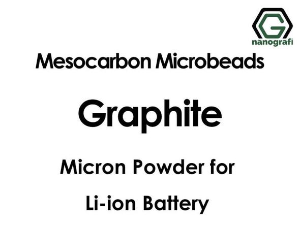 Lityum İyon Pil için Mezokarbon Mikro Uçlar (MCMB) Grafit Mikron Tozu