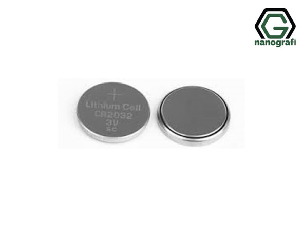 CR2032 Coin Cell Cases with 316SS, Çap: 20 mm, Yükseklik: 3.2 mm