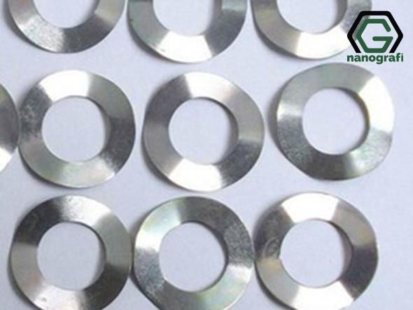 316 Stainless Steel Wave Spring (Belleville Washers) for CR2032, Çap: 15.8 mm, Kalınlık: 0.5 mm