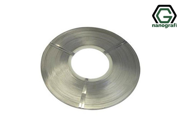 Aluminum Nickel Composite Strip for Battery Tab, Genişlik: 2-100 mm, Kalınlık: 0.08-0.2 mm