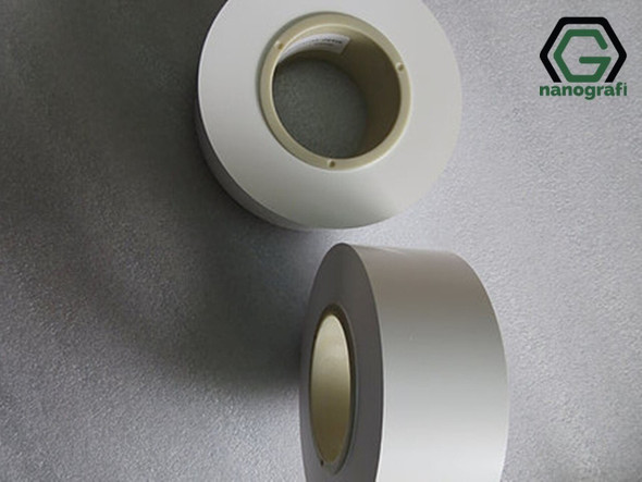 Li-Ion Battery Separator Film, Kalınlık: 25 μm, Genişlik: 60 mm, Uzunluk: 500 m, 1 Roll: 500 m