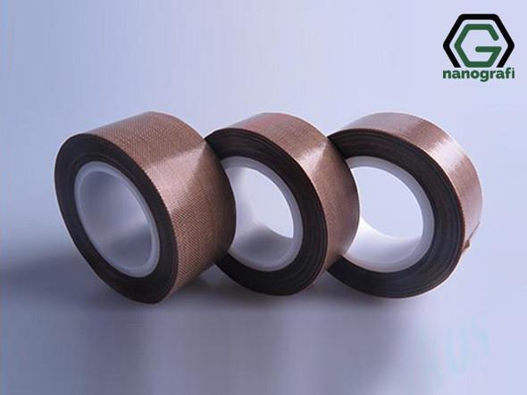 Lityum Batarya için Yüksek Sıcaklık Teflon Bant, Genişlik: 19 mm, Kalınlık: 0.13 mm, Uzunluk: 10 m