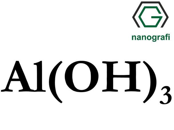 Al(OH)3(Alüminyum Hidroksit) Nanopartikül, 8-18nm, Yüksek Saflıkta 99.95%, Hidrofilik