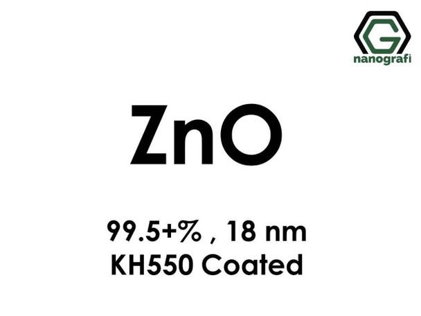 ZnO(Çinko Oksit) Nanopartikül, 99.5+% , 18nm, KH550