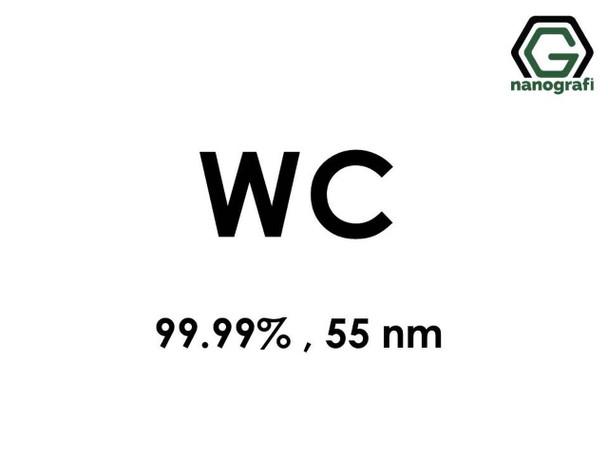 WC(Tungsten Karbür) Nanopartikül, 99.99%, 55nm