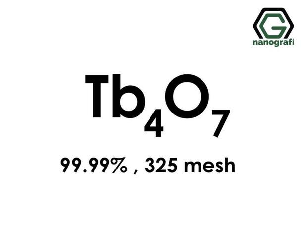 Tb4O7(Terbiyum Oksit), 99.99%, 325 mesh