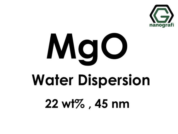 MgO - Su İçerisinde, 22 %ağ, 45nm