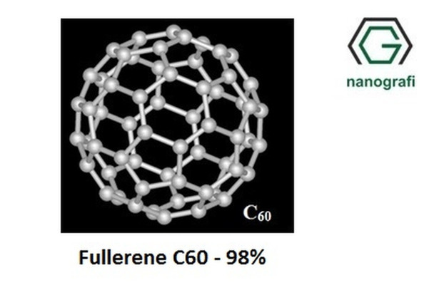 Fulleren-C60 Saflık: %98