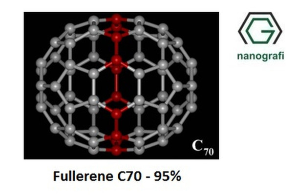 Fulleren-C70, Saflık: 95%