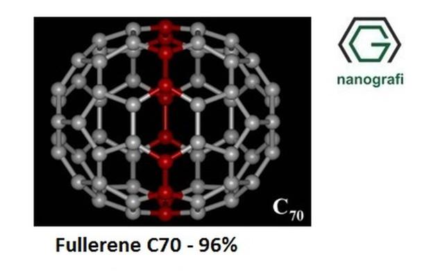 Fulleren- C70, Saflık: 96%