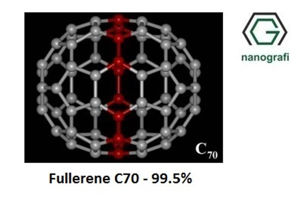 Fulleren-C70 Saflık: 99.5%