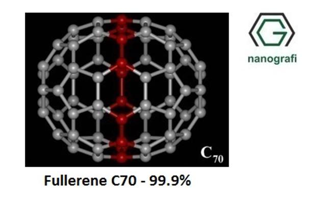 Fulleren-C70 Saflık: 99.9%