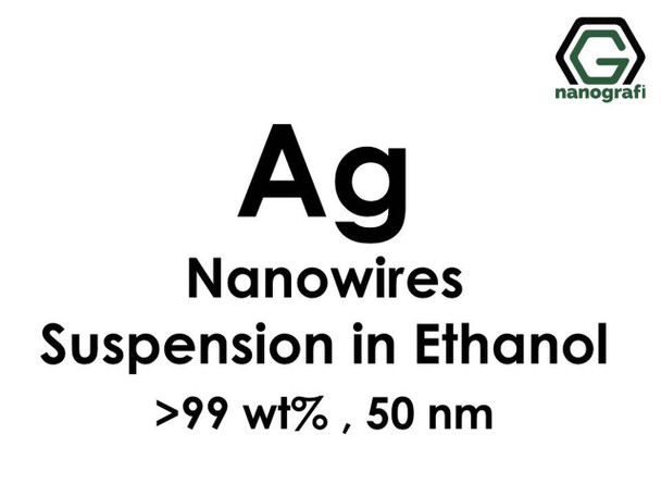 Gümüş Nanotel/Ethanol Süspansiyon