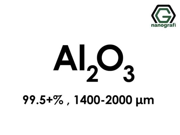 Al2O3(Aluminyum Oksit ) Mikron Tozu, 1400-2000 Mikron , 99.5+%