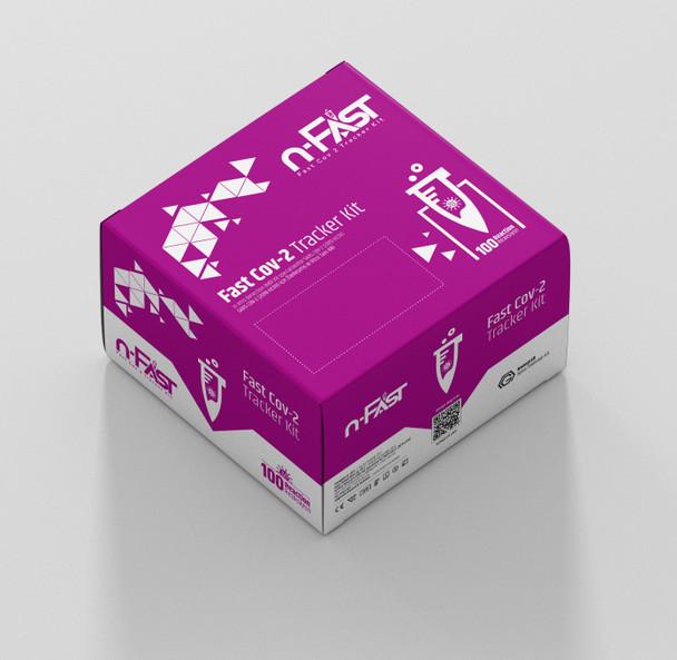 n-FasT Hızlı Sars-COV-2 tanı kiti kutu