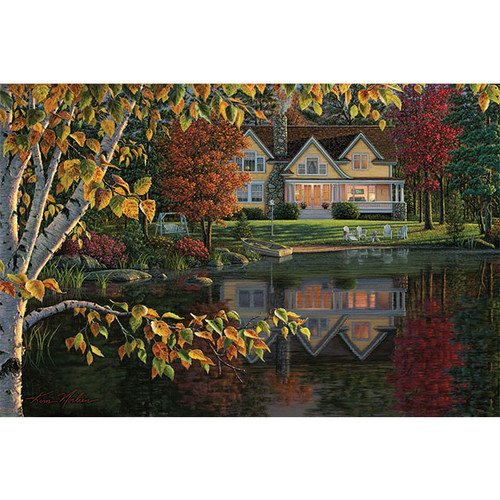 Autumn Reflections - DIY Painting By Numbers Kit