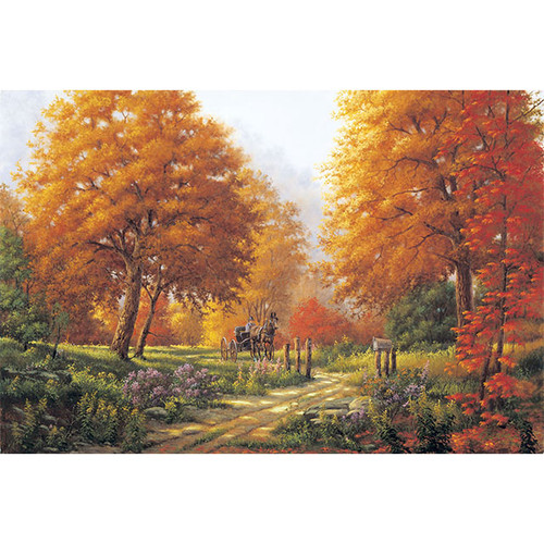 Rural Route - DIY Painting By Numbers Kit