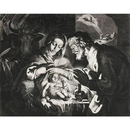 The Birth of Christ - DIY Painting By Numbers Kit