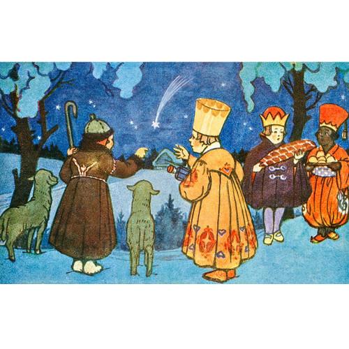 Veselé Vánoce - DIY Painting By Numbers Kit
