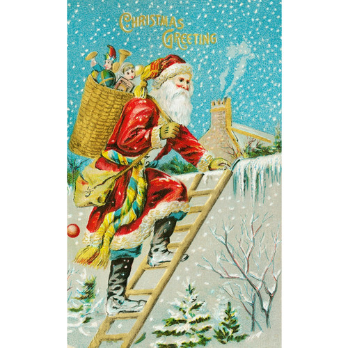 Christmas Greeting - DIY Painting By Numbers Kit