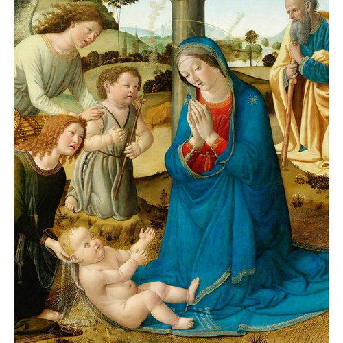The Adoration of the Christ Child - DIY Painting By Numbers Kit