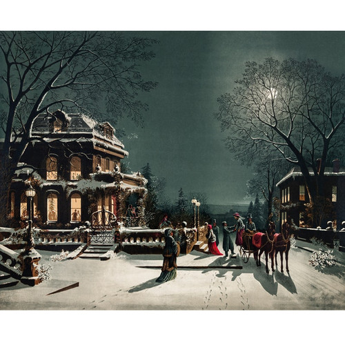 Christmas Eve - DIY Painting By Numbers Kit