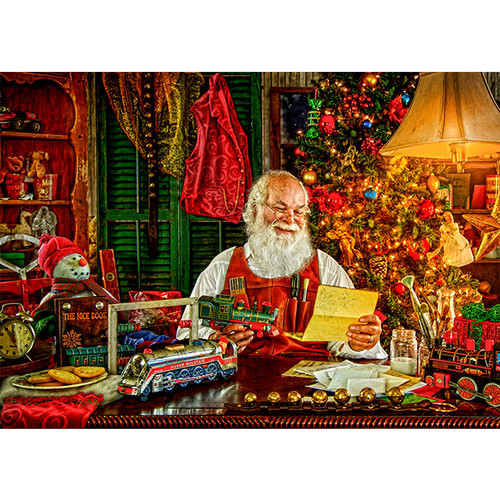 Letters for Santa - DIY Painting By Numbers Kit