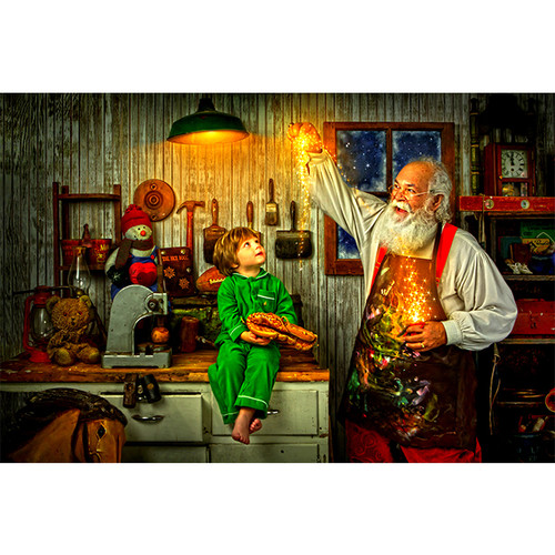 Santa and Star - DIY Painting By Numbers Kit
