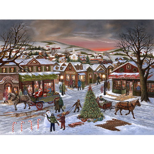 Jingle All the Way - DIY Painting By Numbers Kit