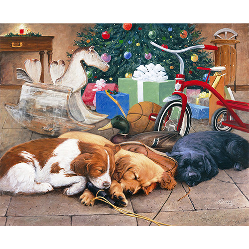 Christmas Dreams - DIY Painting By Numbers Kit
