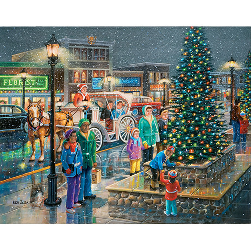 Holiday Lights - DIY Painting By Numbers Kit