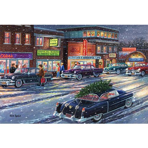 December Twilight - DIY Painting By Numbers Kit
