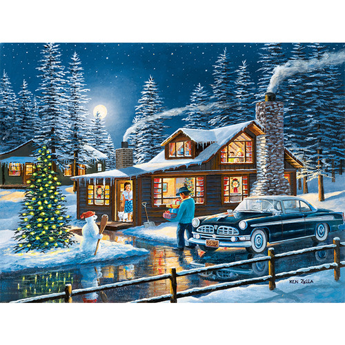 Magic of the Night - DIY Painting By Numbers Kit