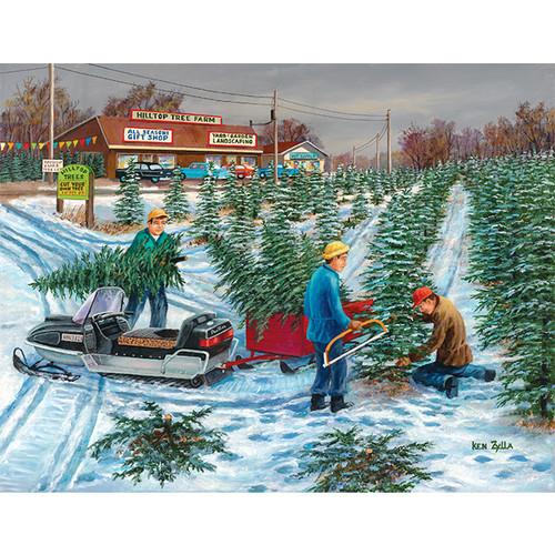 Seasonal Harvest - DIY Painting By Numbers Kit