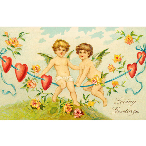 Two Cupids - DIY Painting By Numbers Kit