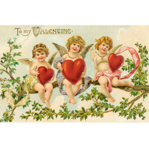 Three Cupids - DIY Painting By Numbers Kit