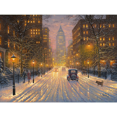 City Lights - DIY Painting By Numbers Kit